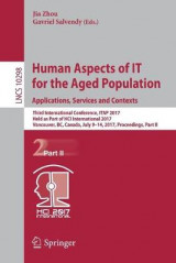 Omslag - Human Aspects of it for the Aged Population. Applications, Services and Contexts 2017: Part II