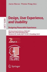 Omslag - Design, User Experience, and Usability: Theory, Methodology, and Management 2017: Part II