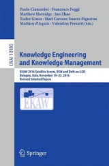 Omslag - Knowledge Engineering and Knowledge Management 2017