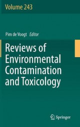 Omslag - Reviews of Environmental Contamination and Toxicology 2017: Volume 243