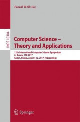 Omslag - Computer Science - Theory and Applications 2017