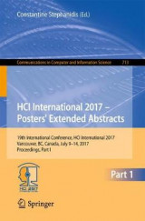 Omslag - HCI International 2017 - Posters' Extended Abstracts 2017: Part 1