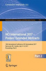 Omslag - HCI International 2017 - Posters' Extended Abstracts 2017: Part 2