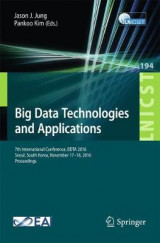 Omslag - Big Data Technologies and Applications