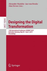 Omslag - Designing the Digital Transformation 2017