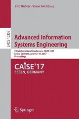 Omslag - Advanced Information Systems Engineering 2017