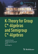 Omslag - K-Theory for Group C*-Algebras and Semigroup C*-Algebras