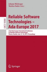 Omslag - Reliable Software Technologies - Ada-Europe 2017 2017