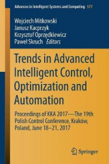 Omslag - Trends in Advanced Intelligent Control, Optimization and Automation