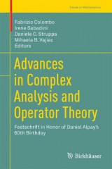 Omslag - Advances in Complex Analysis and Operator Theory