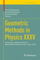 Omslag - Geometric Methods in Physics XXXV