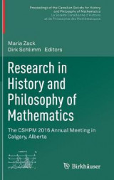 Omslag - Research in History and Philosophy of Mathematics
