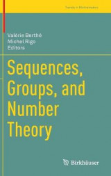 Omslag - Sequences, Groups, and Number Theory