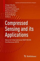 Omslag - Compressed Sensing and its Applications