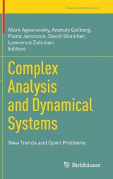 Omslag - Complex Analysis and Dynamical Systems