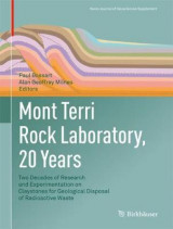 Omslag - Mont Terri Rock Laboratory, 20 Years