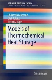 Models of Thermochemical Heat Storage av Olaf Kolditz, Christoph Lehmann og Thomas Nagel (Heftet)