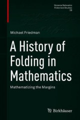 Omslag - A History of Folding in Mathematics