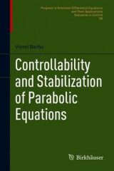 Omslag - Controllability and Stabilization of Parabolic Equations