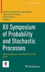 Omslag - XII Symposium of Probability and Stochastic Processes