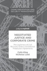 Omslag - Negotiated Justice and Corporate Crime