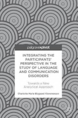 Omslag - Integrating the Participants' Perspective in the Study of Language and Communication Disorders