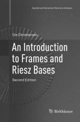 Omslag - An Introduction to Frames and Riesz Bases