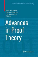 Omslag - Advances in Proof Theory
