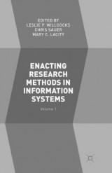 Omslag - Enacting Research Methods in Information Systems