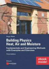 Omslag - Building Physics: Heat, Air and Moisture