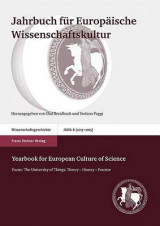 Omslag - Jahrbuch Fur Europaische Wissenschaftskultur / Yearbook for European Culture of Science 8 (2013-2015)