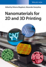 Omslag - Nanomaterials for 2D and 3D Printing
