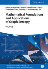 Omslag - Mathematical Foundations and Applications of Graph Entropy