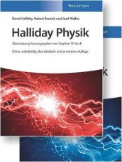 Halliday Physik Deluxe av Michael Bar, Matthias Delbruck, David Halliday, Stephan W. Koch, Robert Resnick og Jearl Walker (Innbundet)