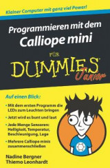 Omslag - Programmieren mit dem Calliope mini fur Dummies Junior