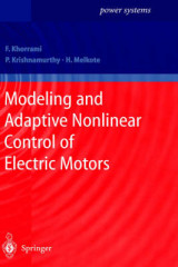 Omslag - Modeling and Adaptive Nonlinear Control of Electric Motors