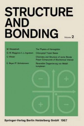 Structure and Bonding: 2 av C. K. Jorgensen, J. B. Neilands, R. S. Nyholm, D. Reinen og R. J. P. Williams (Heftet)