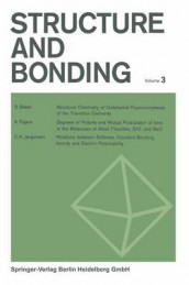 Structure and Bonding av C. K. Jorgensen, J. B. Neilands, Ronald S. Nyholm, D. Reinen og R. J. P. Williams (Heftet)
