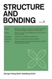Structure and Bonding: 5 av C. K. Jorgensen, J. B. Neilands, Ronald S. Nyholm, D. Reinen og R. J. P. Williams (Heftet)