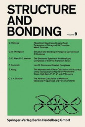 Structure and Bonding av P. Hemmerich, C. K. Jorgensen, J. B. Neilands, Ronald S. Nyholm, D. Reinen og R. J. P. Williams (Heftet)