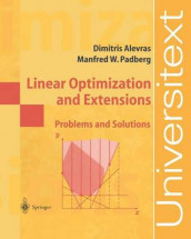 Linear Optimization and Extensions av Dimitris Alevras og Manfred W. Padberg (Heftet)