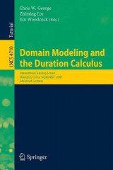 Omslag - Domain Modeling and the Duration Calculus