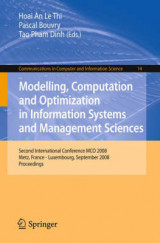 Omslag - Modelling, Computation and Optimization in Information Systems and Management Sciences