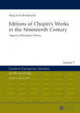 Omslag - Editions of Chopin's Works in the Nineteenth Century