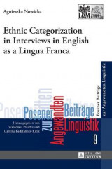 Omslag - Ethnic Categorization in Interviews in English as a Lingua Franca