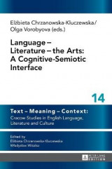 Omslag - Language - Literature - The Arts: A Cognitive-Semiotic Interface