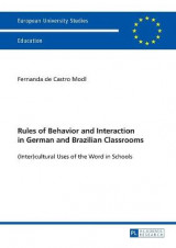 Omslag - Rules of Behavior and Interaction in German and Brazilian Classrooms