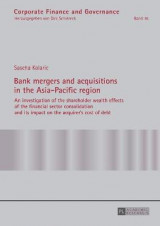Omslag - Bank Mergers and Acquisitions in the Asia-Pacific Region