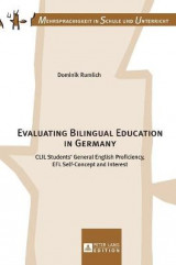 Omslag - Evaluating Bilingual Education in Germany