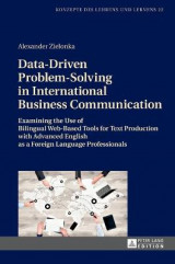 Omslag - Data-Driven Problem-Solving in International Business Communication